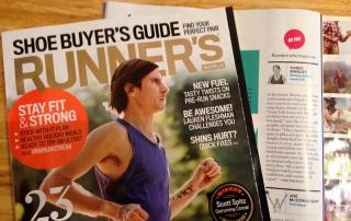 Annie's Locker featured in Runner's World Magazine
